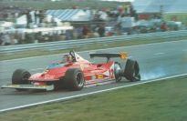 Homenaje a Gilles Villeneuve.