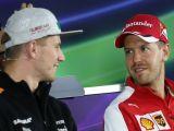 Vettel y Hulkenberg en la ROC