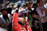 Vettel alegró a Ferrari en Interlagos