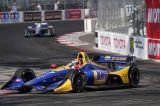 Rossi ganó en un clásico norteamericano
