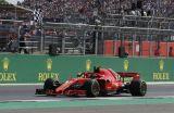 Vettel golpeó de visitante