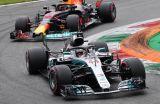 Hamilton pegó en la casa de Ferrari